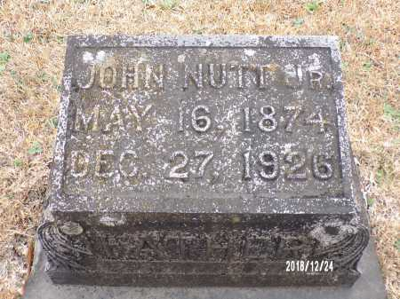 NUTT, JR, JOHN - Dallas County, Arkansas | JOHN NUTT, JR - Arkansas Gravestone Photos