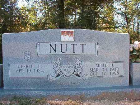 NUTT, MILLIE J - Dallas County, Arkansas | MILLIE J NUTT - Arkansas Gravestone Photos