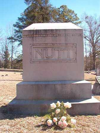 NUTT, MEMORIAL - Dallas County, Arkansas | MEMORIAL NUTT - Arkansas Gravestone Photos