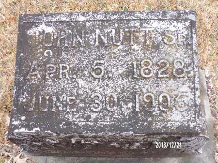 NUTT, SR, JOHN (BIO) - Dallas County, Arkansas | JOHN (BIO) NUTT, SR - Arkansas Gravestone Photos