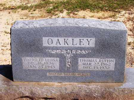 OAKLEY, HARRIETT LEONA - Dallas County, Arkansas | HARRIETT LEONA OAKLEY - Arkansas Gravestone Photos