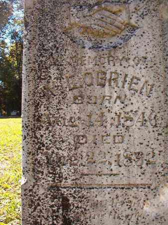 O'BRIEN, W E - Dallas County, Arkansas | W E O'BRIEN - Arkansas Gravestone Photos
