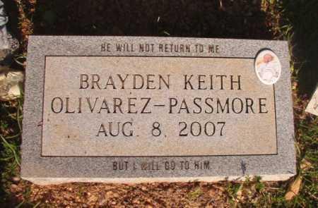 OLIVAREZ-PASSMORE, BRAYDEN KEITH - Dallas County, Arkansas | BRAYDEN KEITH OLIVAREZ-PASSMORE - Arkansas Gravestone Photos