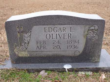 OLIVER, EDGAR L - Dallas County, Arkansas | EDGAR L OLIVER - Arkansas Gravestone Photos