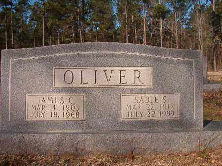 OLIVER, SADIE S - Dallas County, Arkansas | SADIE S OLIVER - Arkansas Gravestone Photos