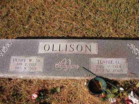 OLLISON, SR, HENRY W - Dallas County, Arkansas | HENRY W OLLISON, SR - Arkansas Gravestone Photos