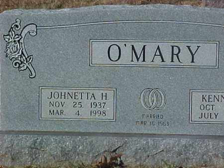O'MARY, JOHNETTA H. - Dallas County, Arkansas | JOHNETTA H. O'MARY - Arkansas Gravestone Photos
