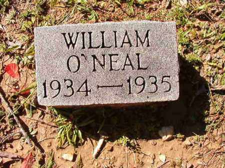 O'NEAL, WILLIAM - Dallas County, Arkansas | WILLIAM O'NEAL - Arkansas Gravestone Photos