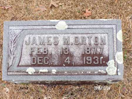ORTON, JAMES M - Dallas County, Arkansas | JAMES M ORTON - Arkansas Gravestone Photos