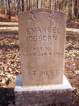 OSBORN, EMANUEL - Dallas County, Arkansas | EMANUEL OSBORN - Arkansas Gravestone Photos