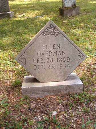 OVERMAN, ELLEN - Dallas County, Arkansas | ELLEN OVERMAN - Arkansas Gravestone Photos