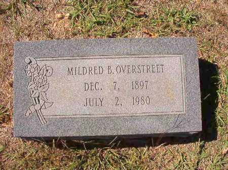OVERSTREET, MILDRED B - Dallas County, Arkansas | MILDRED B OVERSTREET - Arkansas Gravestone Photos