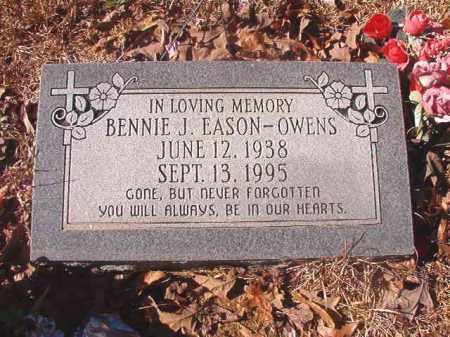 EASON OWENS, BENNIE J - Dallas County, Arkansas | BENNIE J EASON OWENS - Arkansas Gravestone Photos