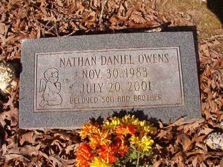 OWENS, NATHAN DANIEL - Dallas County, Arkansas | NATHAN DANIEL OWENS - Arkansas Gravestone Photos