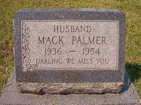 PALMER, MACK - Dallas County, Arkansas | MACK PALMER - Arkansas Gravestone Photos