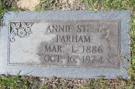 PARHAM, ANNIE - Dallas County, Arkansas | ANNIE PARHAM - Arkansas Gravestone Photos
