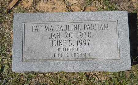 PARHAM, FATIMA PAULINE - Dallas County, Arkansas | FATIMA PAULINE PARHAM - Arkansas Gravestone Photos
