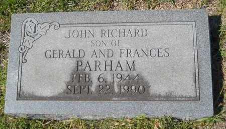 PARHAM, JOHN RICHARD - Dallas County, Arkansas | JOHN RICHARD PARHAM - Arkansas Gravestone Photos