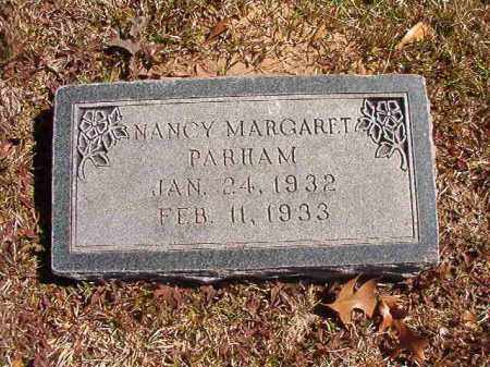 PARHAM, NANCY MARGARET - Dallas County, Arkansas | NANCY MARGARET PARHAM - Arkansas Gravestone Photos