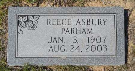 PARHAM, REECE ASBURY - Dallas County, Arkansas | REECE ASBURY PARHAM - Arkansas Gravestone Photos