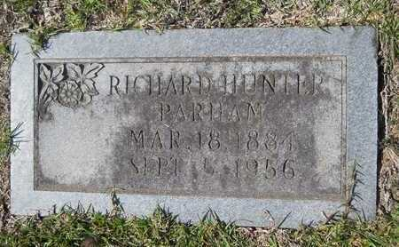 PARHAM, RICHARD HUNTER - Dallas County, Arkansas | RICHARD HUNTER PARHAM - Arkansas Gravestone Photos