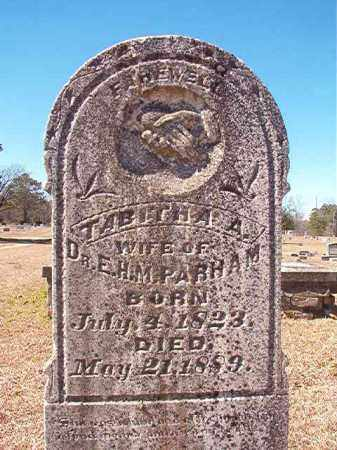 PARHAM, TABITHA A - Dallas County, Arkansas | TABITHA A PARHAM - Arkansas Gravestone Photos