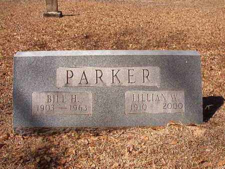 PARKER, BILL H - Dallas County, Arkansas | BILL H PARKER - Arkansas Gravestone Photos