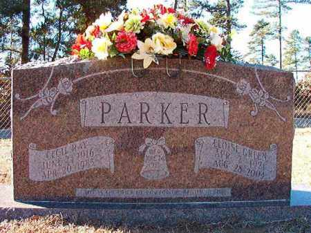 PARKER, CECIL RAY - Dallas County, Arkansas | CECIL RAY PARKER - Arkansas Gravestone Photos