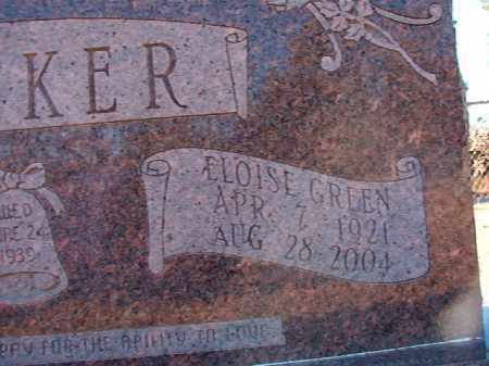 GREEN PARKER, ELOISE - Dallas County, Arkansas | ELOISE GREEN PARKER - Arkansas Gravestone Photos