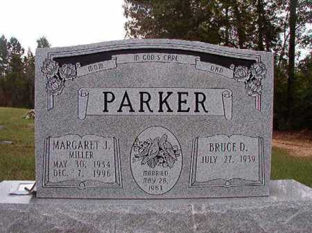 MILLER PARKER, MARGARET J - Dallas County, Arkansas | MARGARET J MILLER PARKER - Arkansas Gravestone Photos