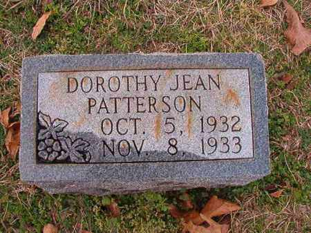 PATTERSON, DOROTHY JEAN - Dallas County, Arkansas | DOROTHY JEAN PATTERSON - Arkansas Gravestone Photos