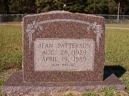 PATTERSON, JEAN - Dallas County, Arkansas | JEAN PATTERSON - Arkansas Gravestone Photos