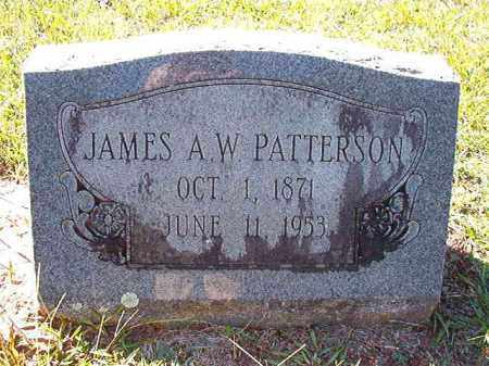 PATTERSON, JAMES A W - Dallas County, Arkansas | JAMES A W PATTERSON - Arkansas Gravestone Photos