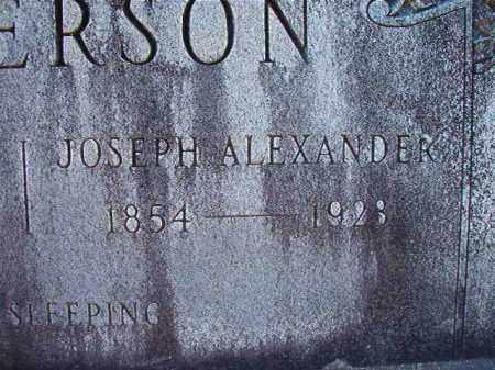 PATTERSON, JOSEPH ALEXANDER - Dallas County, Arkansas | JOSEPH ALEXANDER PATTERSON - Arkansas Gravestone Photos