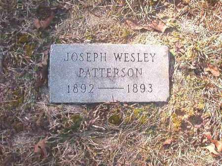 PATTERSON, JOSEPH WESLEY - Dallas County, Arkansas | JOSEPH WESLEY PATTERSON - Arkansas Gravestone Photos