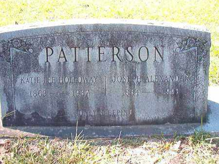 PATTERSON, JOSEPH ALEXANDER - Dallas County, Arkansas | JOSEPH ALEXANDER PATTERSON - Arkansas Gravestone Photos