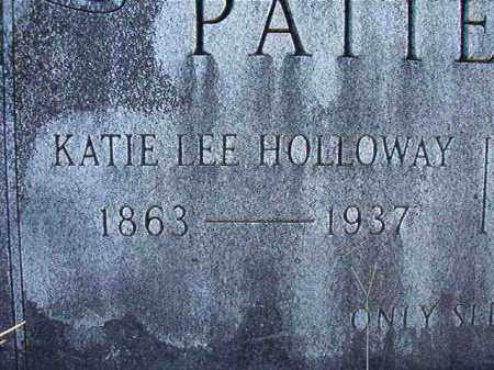 HOLLOWAY PATTERSON, KATIE LEE - Dallas County, Arkansas | KATIE LEE HOLLOWAY PATTERSON - Arkansas Gravestone Photos