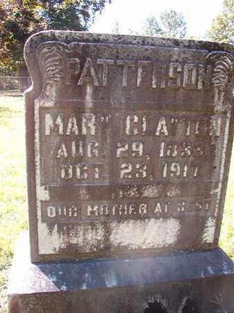 PATTERSON, MARY CLAYTON - Dallas County, Arkansas | MARY CLAYTON PATTERSON - Arkansas Gravestone Photos