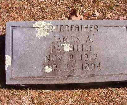 PATTILLO, JAMES A - Dallas County, Arkansas | JAMES A PATTILLO - Arkansas Gravestone Photos