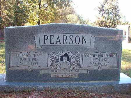 "PEARSON, SPURGEON ""MAC"" - Dallas County, Arkansas 