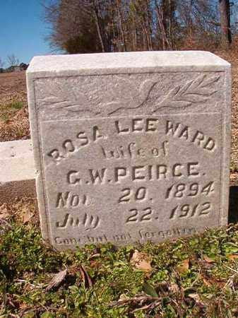 WARD PEIRCE, ROSA LEE - Dallas County, Arkansas | ROSA LEE WARD PEIRCE - Arkansas Gravestone Photos