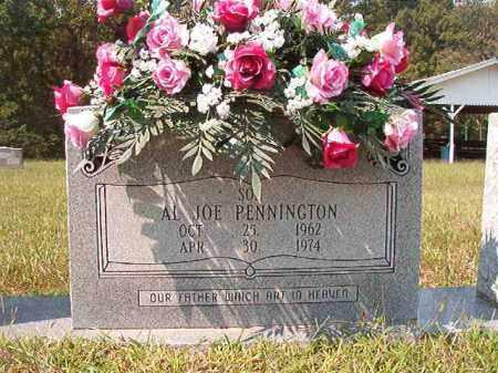 PENNINGTON, AL JOE - Dallas County, Arkansas | AL JOE PENNINGTON - Arkansas Gravestone Photos