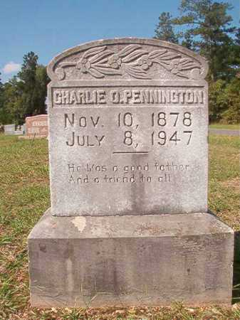 PENNINGTON, CHARLIE O - Dallas County, Arkansas | CHARLIE O PENNINGTON - Arkansas Gravestone Photos