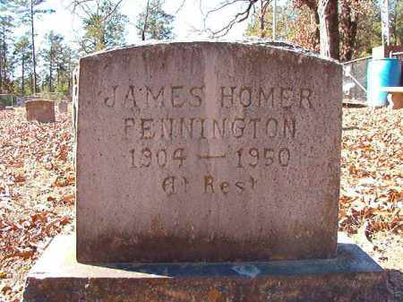 PENNINGTON, JAMES HOMER - Dallas County, Arkansas | JAMES HOMER PENNINGTON - Arkansas Gravestone Photos