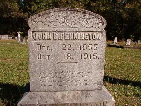 PENNINGTON, JOHN B. - Dallas County, Arkansas | JOHN B. PENNINGTON - Arkansas Gravestone Photos