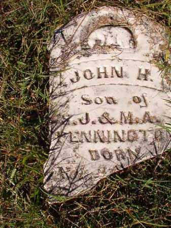 PENNINGTON, JOHN H - Dallas County, Arkansas | JOHN H PENNINGTON - Arkansas Gravestone Photos