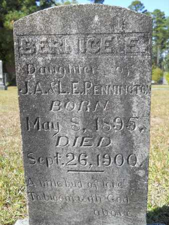 PENNINGTON, BERNICE E - Dallas County, Arkansas | BERNICE E PENNINGTON - Arkansas Gravestone Photos