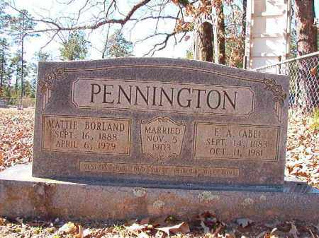 PENNINGTON, MATTIE - Dallas County, Arkansas | MATTIE PENNINGTON - Arkansas Gravestone Photos