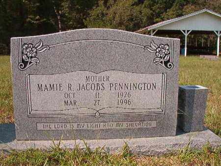 PENNINGTON, MAMIE R - Dallas County, Arkansas | MAMIE R PENNINGTON - Arkansas Gravestone Photos