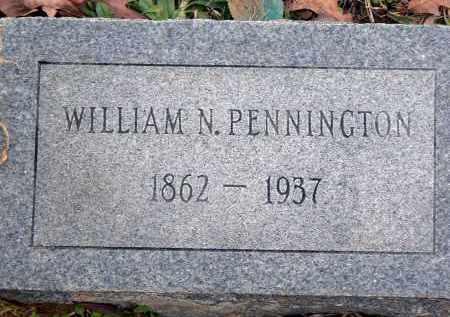 PENNINGTON, WILLIAM N. - Dallas County, Arkansas | WILLIAM N. PENNINGTON - Arkansas Gravestone Photos